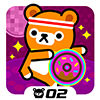 Donut Dance - Tappi Bear